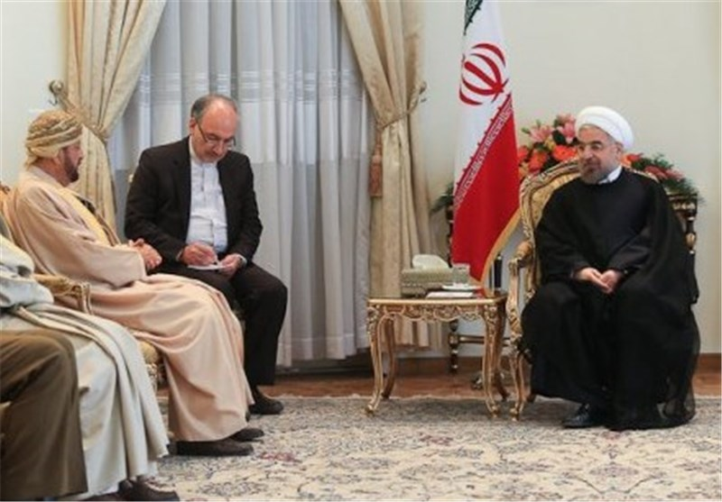 President Urges Iran-Oman Joint Efforts to Improve Regional Security