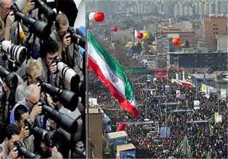 اکثر من 170 مراسلا اجنبیا یغطون مسیرات ذکرى انتصار الثورة الاسلامیة