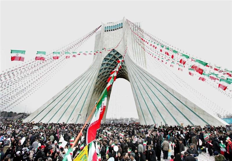 Iranian Ralliers Renew Allegiance to Islamic Revolution's Values