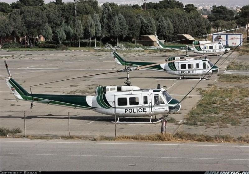 Iranian Police Conduct Air Patrols along Iraqi Border ahead of Arbaeen