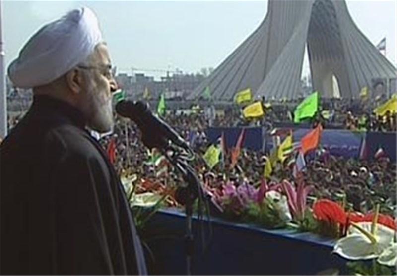 President Rouhani Blasts Enemies' Threatening Tone against Iran