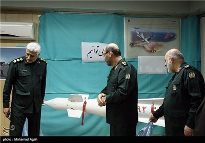 Iran Unveils New Home-Made Missiles