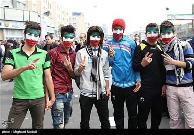 People in Tehran Mark Anniversary of Victory of Islamic Revolution