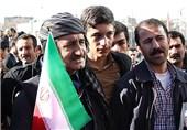 جشن 40 سالگی انقلاب و حماسه ملی 22 بهمن در نگاه مردم کردستان+فیلم