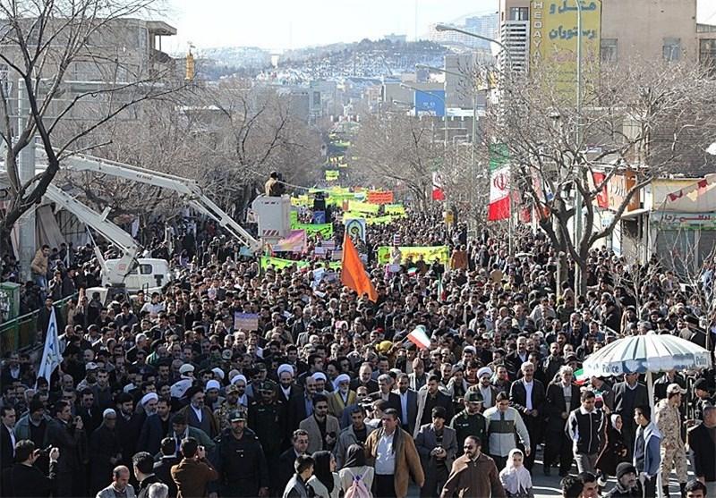 مسیرهای راهپیمایی 22 بهمن در استان کردستان اعلام شد