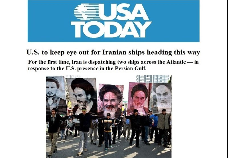 USA.TODAY : إیران تستعرض نفوذها بسفن حربیة على سواحل الولایات المتحدة الامریکیة