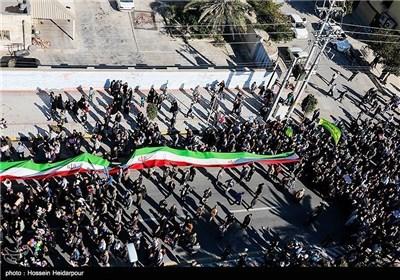 مسیرات 22 بهمن فی بوشهر