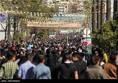 مسیرات 22 بهمن فی شیراز