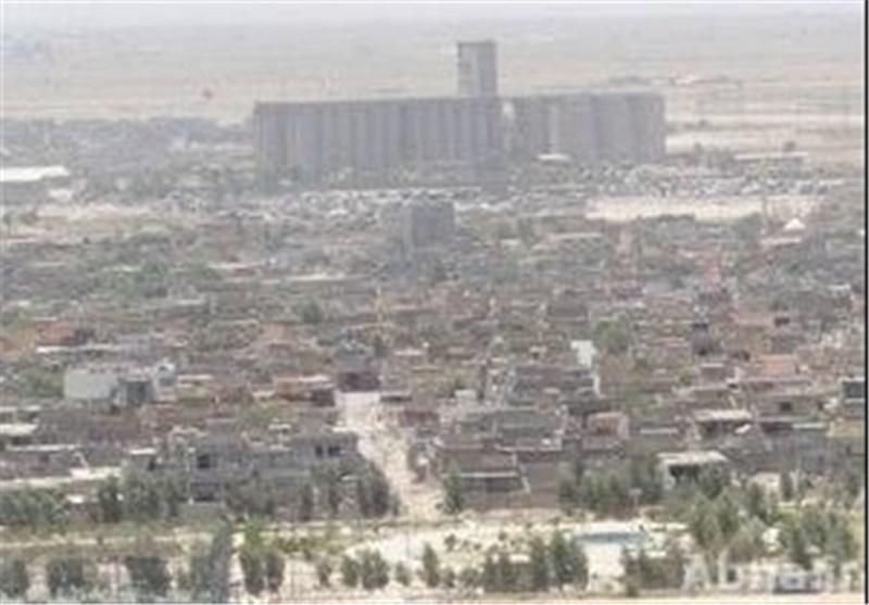 ارهابیون یسممون مشروعا للماء وسط قضاء طوزخورماتو العراقی