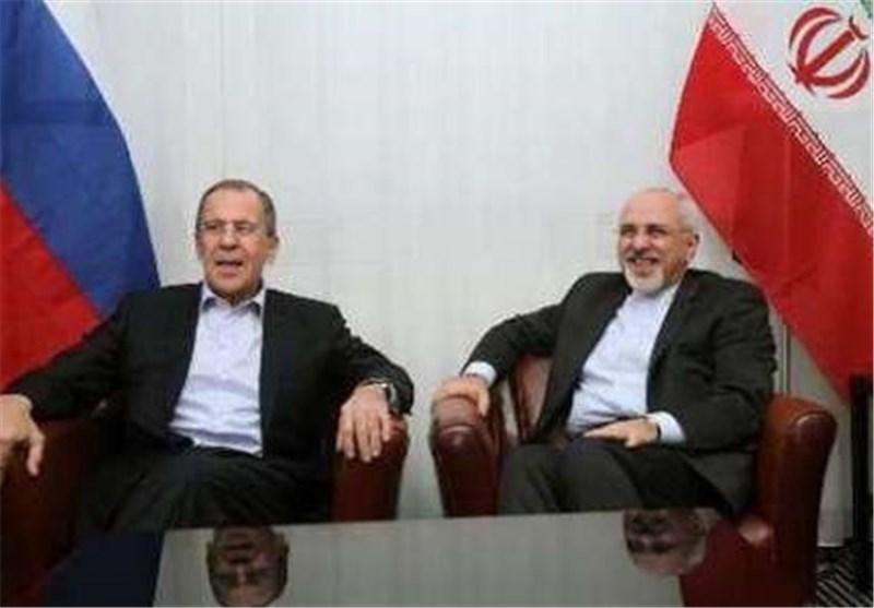 Iranian, Russian FMs Confer on Nuclear Talks