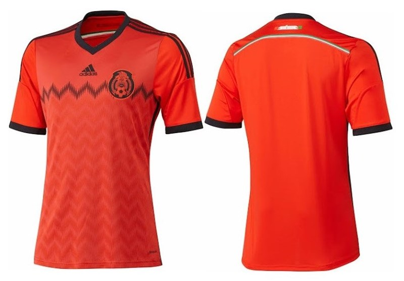 رونمایی از پیراهن دوم آلمان و مکزیک + تصاویر