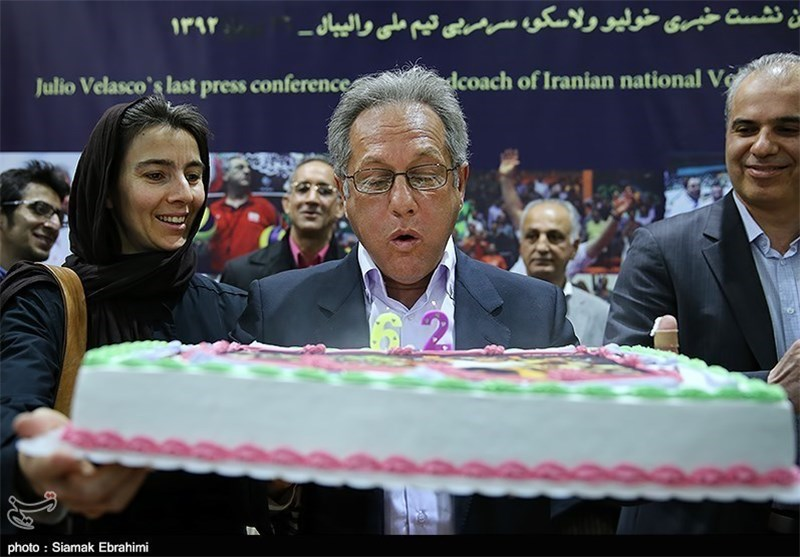 Julio Velasco Says Goodbye to Iran's Volleyball (+Photos)
