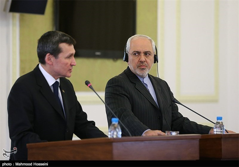ظریف یستقبل وزیر الخارجیة تركمنستان