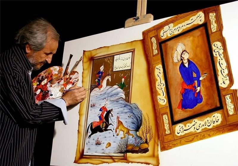 رهبر انقلاب هم آثار را میشناسند، هم ابزار خط و نقاشی را