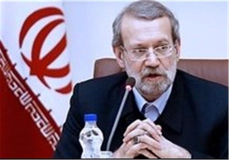 لاریجانی: أمریکا لن یحق لها التدخل فی الشؤون الداخلیة لایران الاسلامیة