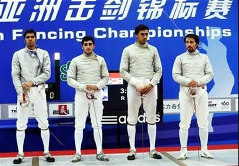 Iran's Sabre Team Seizes Silver in Asian Games