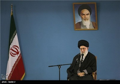 People of Iranian Northwestern City Meet with Supreme Leader