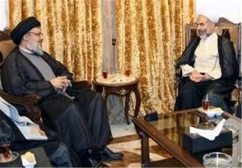 رئیس دائرة الأوقاف فی إیران یلتقی السید نصر الله
