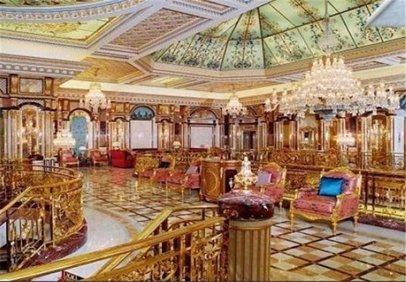 امیر قطر یهدی قصره بالمغرب الى الملک محمد السادس + صور