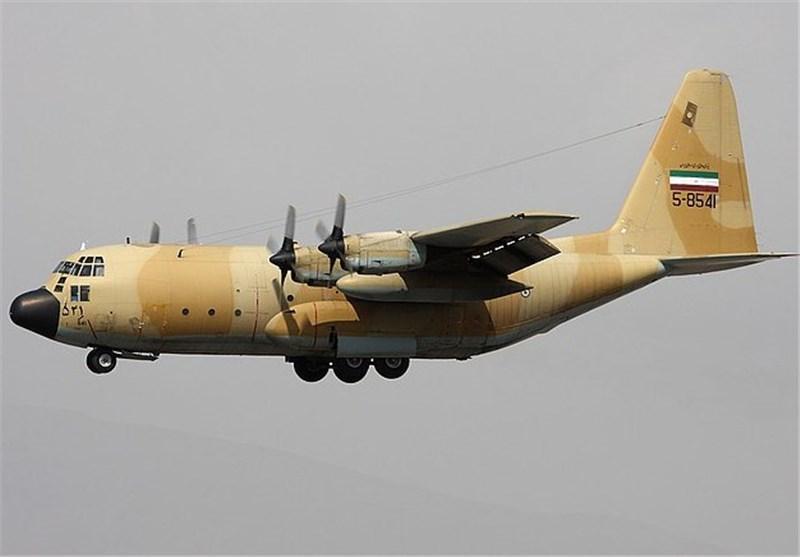 Iranian Air Force Overhauls C-130 Aircraft