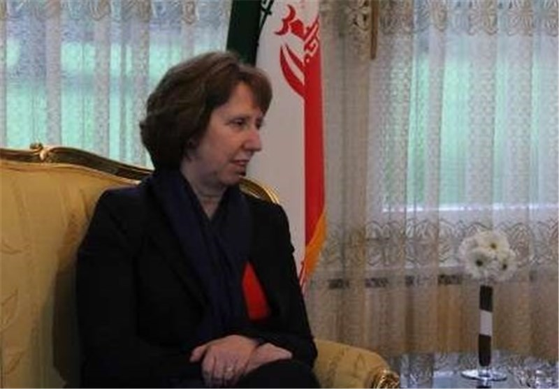 Spokesperson: EU's Ashton to Visit Iran Irrespective of Ukraine Crisis