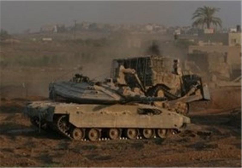 توغل محدود لآلیات الاحتلال شرق خان یونس