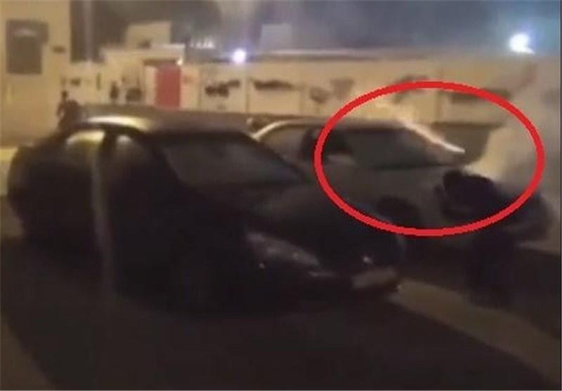 طلقات الغازات السامة نحو البحرينين