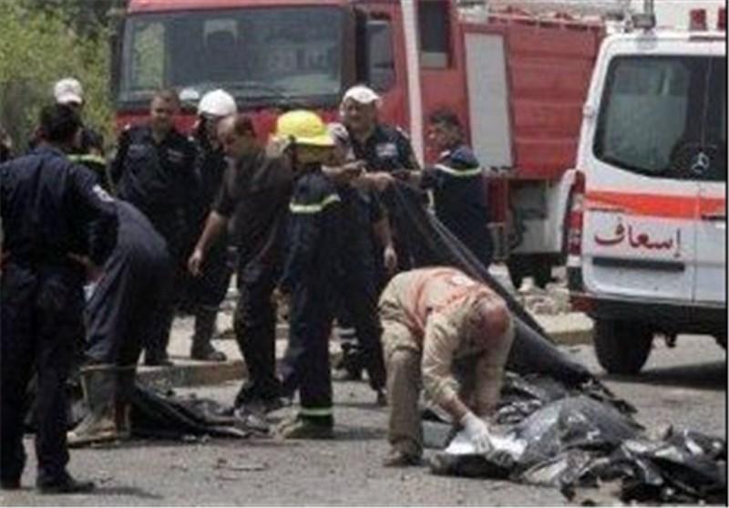 مقتل واصابة اکثر من 100 شخص جراء سلسلة انفجارات ضربت مناطق مختلفة من بغداد وبابل