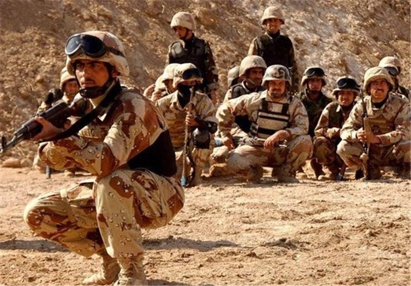 """العثور على معسکر لـ""""داعش"""" تحت الارض غرب محافظة الانبار العراقیة"""
