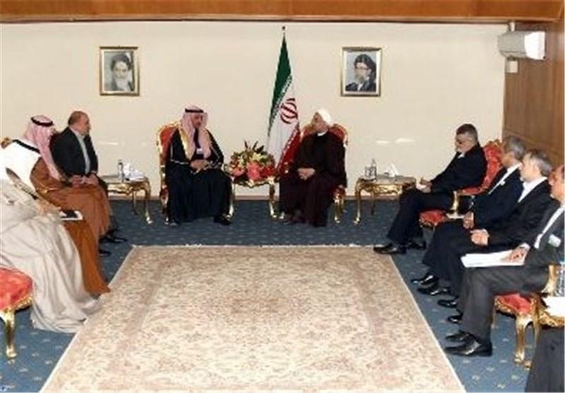 روحانی : التضامن وترسیخ العلاقات بین دول الخلیج الفارسی یضمن الاستقرار والامن الاقلیمی