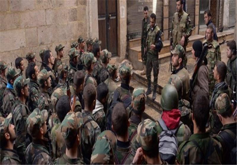 مئات المسلحین یسلمون اسلحتهم فی ریف دمشق بعد مصالحة مع الحکومة