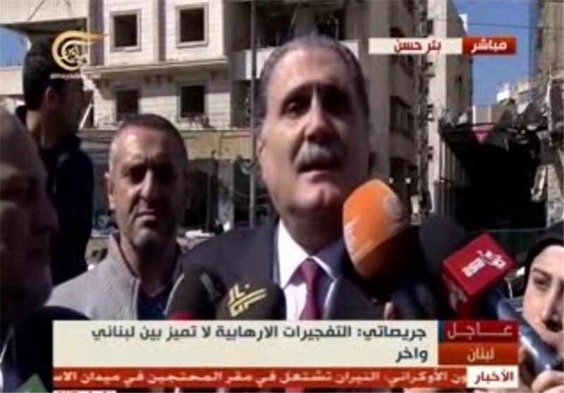الوزیر السابق سلیم جریصاتی : التفجیرات الإرهابیة لا تمیّز بین لبنانی وآخر