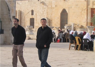 نائب رئیس الکنیست الصهیونی یدنس المسجد الأقصى