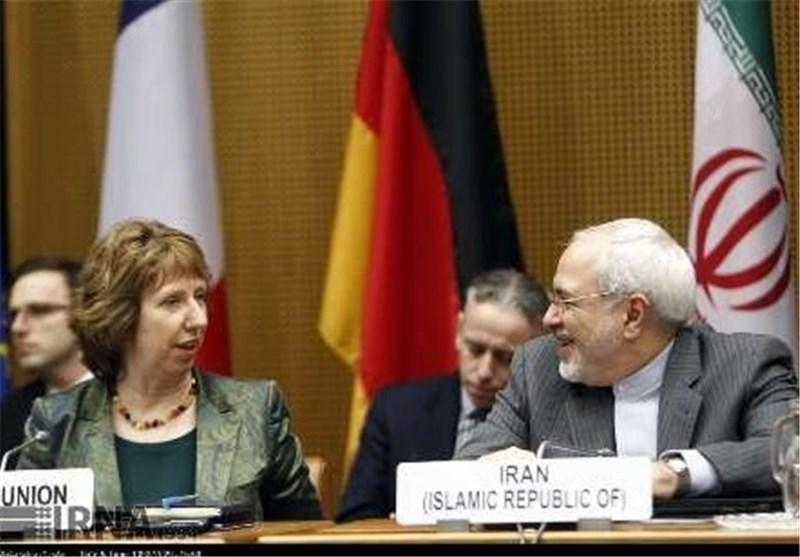 ظریف یلتقی کاثرین اشتون لتقییم مفاوضات فیینا النوویة