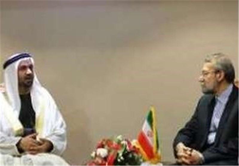 لاريجاني و رئيس البرلمان العربي