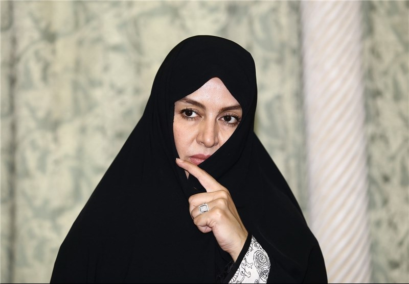 کانال بوشهر خبرگزاری تسنیم - ادای احترام مریلا زارعی به ساحت حضرت ...