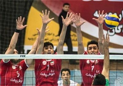 بازیکنان تیم شهرداری ارومیه والیبال