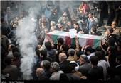 مراسم تشییع پیکر شهید گمنام در تهران آغاز شد