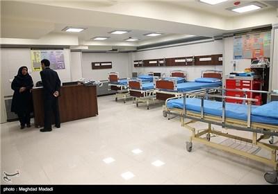 افتتاح فندق و مستشفی غاندی فی طهران