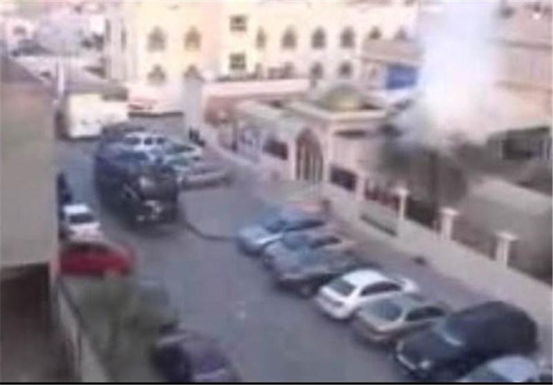 آلية عسكرية تابعة للنظام البحريني