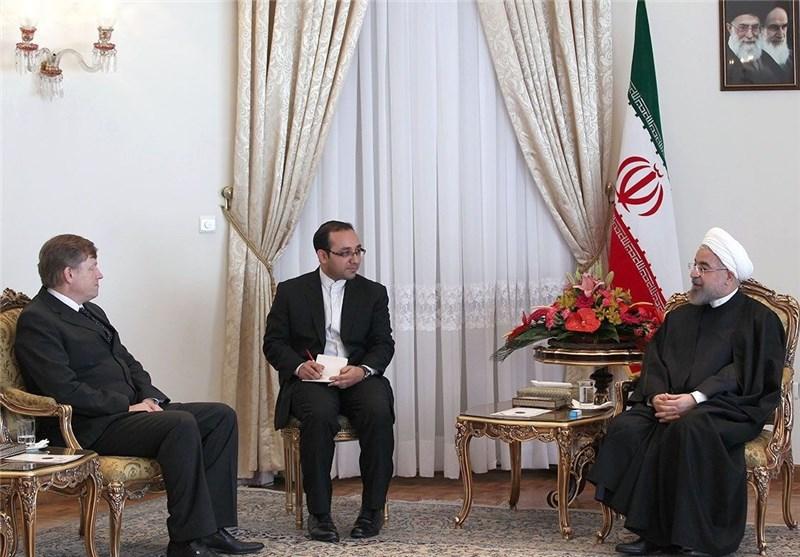 New European Ambassadors Meet Iran's President