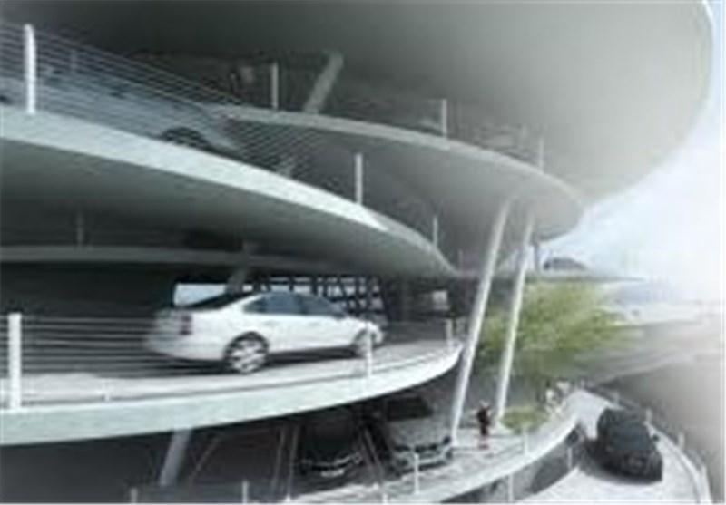 بزرگترین پارکینگ طبقاتی کردستان در سقز به بهرهبرداری رسید
