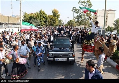 President Rouhani Starts 3-Day Visit to Iran's Southern Province
