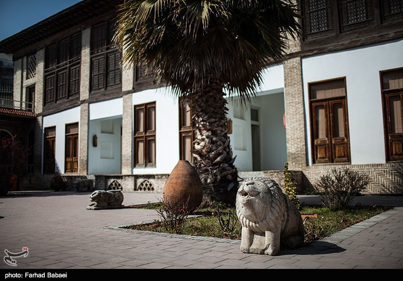 Kolbadi Historic Building in Iran's Northern City of Sari