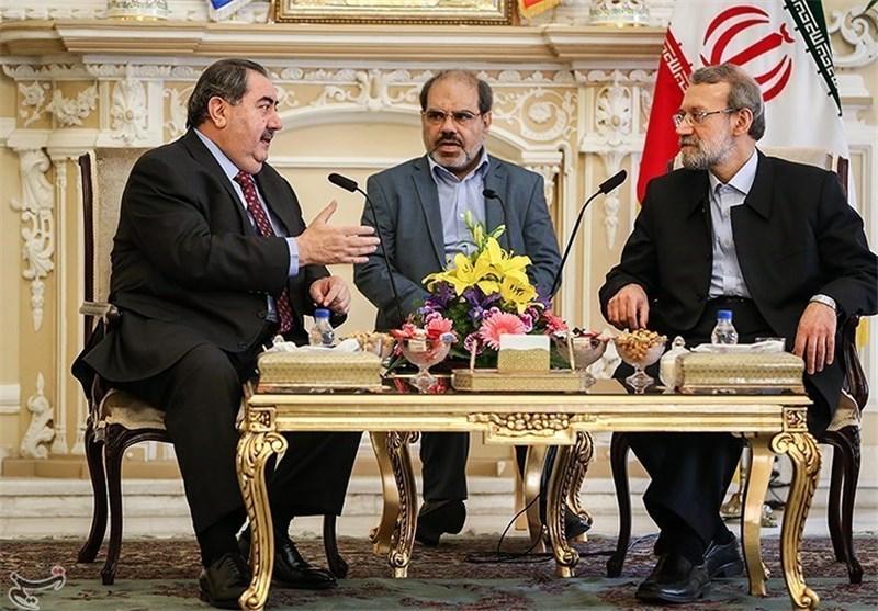 Visiting Iraqi FM Meets Iranian Parliament Speaker
