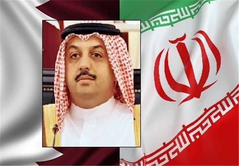 وزیرخارجیة قطر یصل طهران