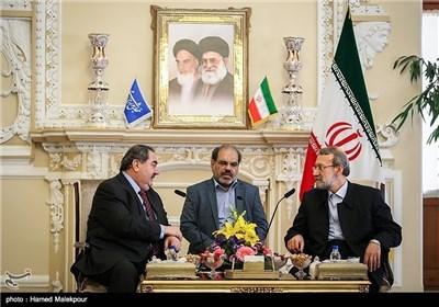 لاریجانی یستقبل وزیرخارجیة العراق هوشیار زیباری