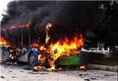 پلیس راهور: حریق اتوبوس در آبادان صحت ندارد