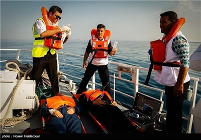 Rescue, Relief Operations Held in Iran's Southern Province