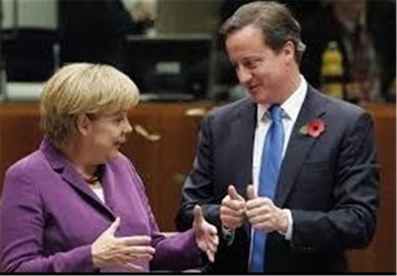 Merkel Addresses Britain's Parliament